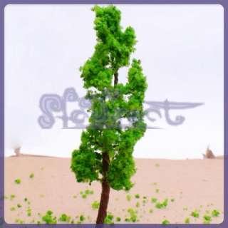 10 Pine Model Train Car Tree Scenery Scale N HO 1100