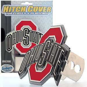 Ohio State Buckeyes 3 D Trailer Hitch Cover   NCAA College
