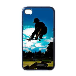 NEW iPhone 4 Hard Case Cover Skateboarding Jump