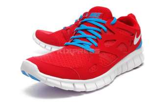 Nike Free Run+ 2 Sport Red/White Blue Glow