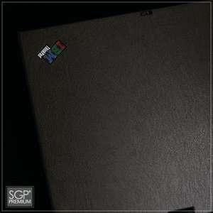 IBM ThinkPad X61T Laptop Cover Skin [DeepBlack Leather
