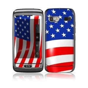 I Love America Design Protective Skin Decal Sticker for LG