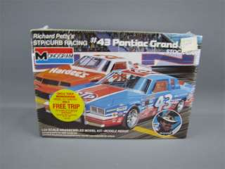 Sealed Nascar #43 STP Pontiac Grand Prix Model Kit 1/24