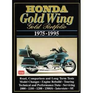 Gold Wing 1975 95 Gold Portfolio (9781855204812) R.M. Clarke Books