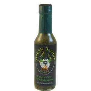 Green Bandit Cilantro Habanero Hot Sauce Grocery & Gourmet Food