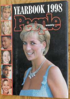 People Weekly 1998 Year Book, Princess Diana Lady Di 1883013275