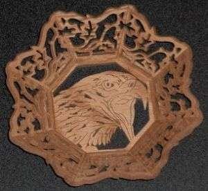 Custom Handmade Eagle Bowl Wooden Gifts Buy American made