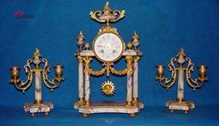 Exclusive and Gorgeous Empire Clock Set