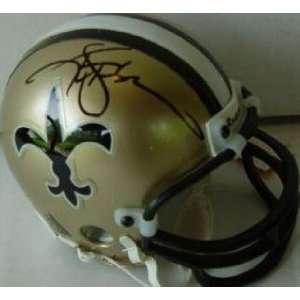 Ken Stabler Signed Mini Helmet   (New Orleans Saints