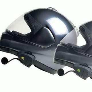 2X Bluetooth Motorcycle Helmet Speaker Headset Intercom
