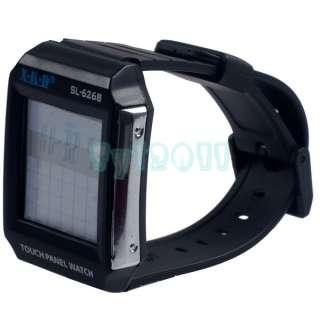 New Plastic Black LCD Touch Screen Panel Digital Calculator Wrist