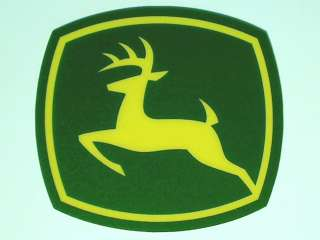 DEERE Heavy Duty 3M Vinyl Decal Stickers 2 Pcs. One low price