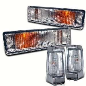 Eautolight 90 97 Nissan Hardbody Pickup Clear Corner