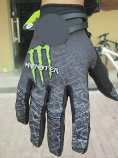 New Outdoor Cycling Bike Bicycle Monster Sports Full Finger Gloves