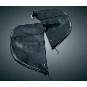 Kuryakyn 1801 Engine Guard Chaps   Plain (pr) for Harley
