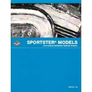 2012 Harley Davidson Sportster Models Service Manual, Part