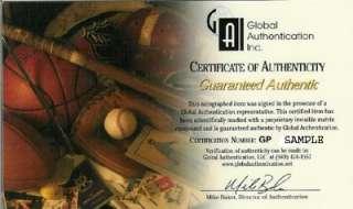 PAUL MOLITOR AUTOGRAPHED SIGNED RAWLINGS BAT 93 WS MVP GAI