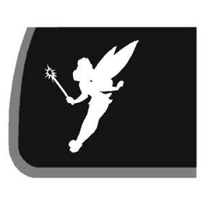 Tinker Bell Silhouette Car Decal / Sticker: Automotive