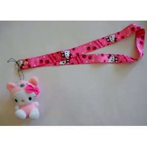 4 Baby Pink Hello Kitty in Costume Plush Mascot with