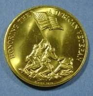 Honoring the American Veteran Preserving Freedom COIN