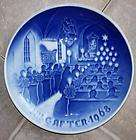1902 BING & GRONDAHL B&G GOTHIC CHURCH CHRISTMAS PLATE EXCELLENT