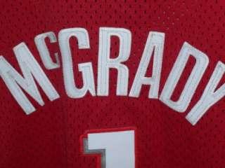 SEWN #1 T.McGRADY HOUSTON ROCKETS NBA JERSEY MENS 2XL