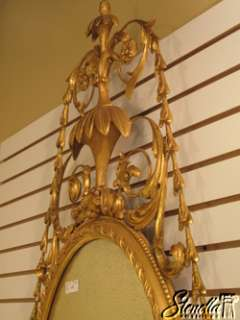 16240 Outstanding Gold Gilt Carved Frame Decorator Mirror