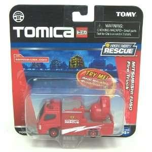 Tomica Diecast Mitsubishi Fuso Fire Rescue Truck Toys & Games
