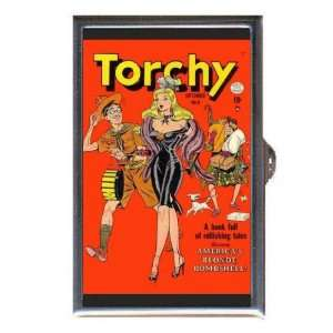 PIN UP TORCHY BILL WARD COMIC Coin, Mint or Pill Box Made