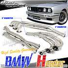 E30 I6 STAINLESS STEEL FULL HEADER/EXHAUST+DOWN/Y PIPE