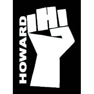 HOWARD STERN White Vinyl Sticker/Decal (Adult.XXXRated)