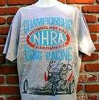 NHRA DRAG RACING T SHIRT FORD CHEVY MOPAR GASSER IHRA SCTA HARLEY L