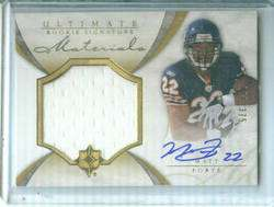 Matt Forte 2008 Ultimate Jersey Autograph RC #100/375