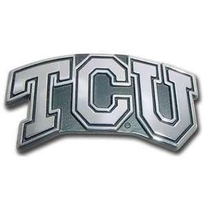 Texas Christian University TCU Horned Frogs Premium Metal