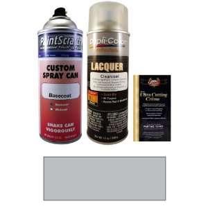 12.5 Oz. Mercury Silver Metallic Spray Can Paint Kit for