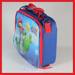Super Mario Bros Flying Yoshi Insulated Lunch Bag Box