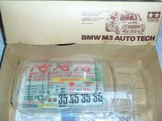 Tamiya BMW M3 AUTO TECH 1/10 RC Body set  NIB