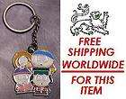 Pewter Key Ring cartoon Boys from South Park NEW