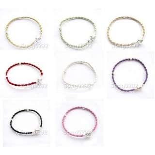 pcs Leather Charm Bracelets For European Beads 7.8/20cm M41