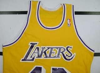 LA LOS ANGELES LAKERS JAMES WORTHY NBA BASKETBALL JERSEY Sz M
