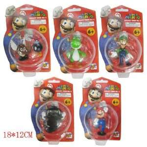 Super Mario Mini Figures Sets Toys & Games