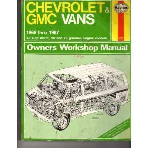 Chevrolet & GMC vans owners workshop manual (Haynes owners