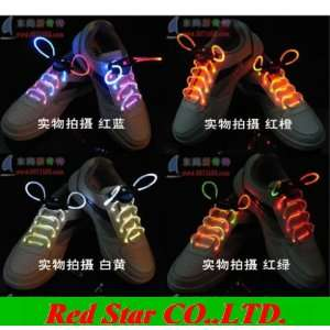 led light up shoelaces led flashing disco flash lite glow stick Home