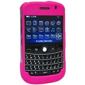 New Amzer Polished Hot Pink Snap On Crystal Hard Case For Blackberry