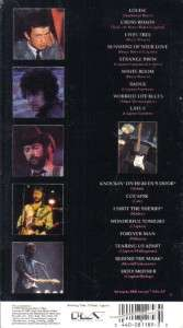 VHS THE CREAM OF ERIC CLAPTON75 MINUTES LONG