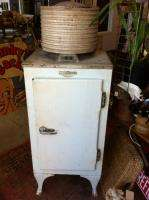 VINTAGE REFRIGERATOR GE JUDSON C BURNS PHILADELPHIA WORKING CONDITION