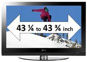 TV Flat Screen Guard Shield 50 inch LCD LED Plasma