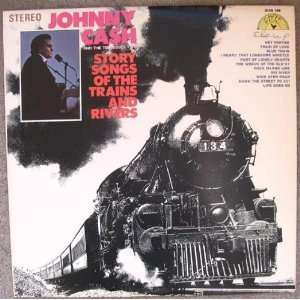 SONGS OF THE TRAINS AND RIVERS [LP VINYL] [Vinyl] JOHNNY CASH: JOHNNY
