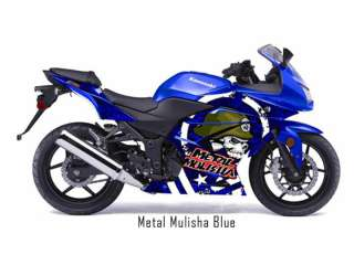 KAWASAKI NINJA 250 R CUSTOM GRAPHIC DECAL STICKER KIT