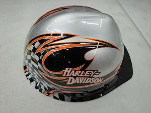 Harley Davidson Racing Graphics Hard Hat P/N HDHHAT20